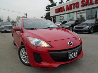 Used 2013 Mazda MAZDA3 GS-SKY SUNROOF, LOW KM,AUX,PL,PW,SAFETY & E TEST for sale in Oakville, ON