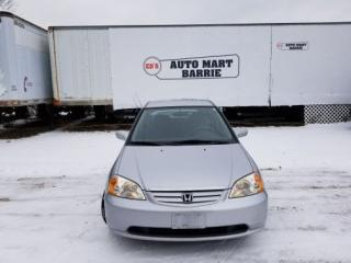 Used 2002 Honda Civic LX-G for sale in Barrie, ON