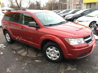 Used 2010 Dodge Journey SE/ AUTO/ 7 SEATER/ REAR CLIMATE CONTROL/ LIKE NEW for sale in Scarborough, ON