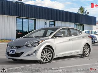 Used 2016 Hyundai Elantra Sport Appearance,LOW KMS,ECO/SPORT,REARVIEW CAM,PW for sale in Barrie, ON