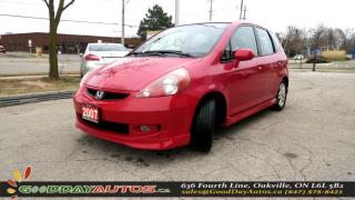 Used 2007 Honda Fit Sport|NO ACCIDENT|ALLOY|KEYLESS ENTRY|CERTIFIE for sale in Oakville, ON