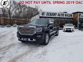 Used 2017 GMC Sierra 1500 Denali 6.2L CREW CAB 4X4 for sale in Barrie, ON