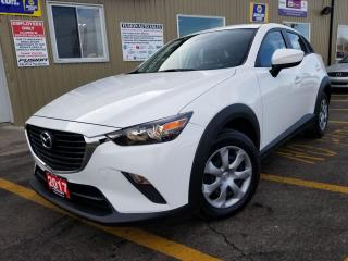 Used 2017 Mazda CX-3 GX-SUPER LOW KM-FACTORY WARRANTY-BLUETOOTH for sale in Tilbury, ON