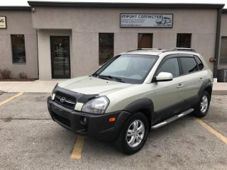 Used 2007 Hyundai Tucson GL 2.7L V6 AWD,NO ACCIDENTS for sale in Burlington, ON