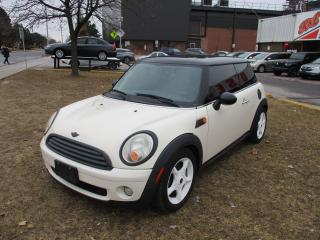 Used 2009 MINI Cooper 2 door~LEATHER~MANUAL~PANORAMIC ROOF for sale in Toronto, ON