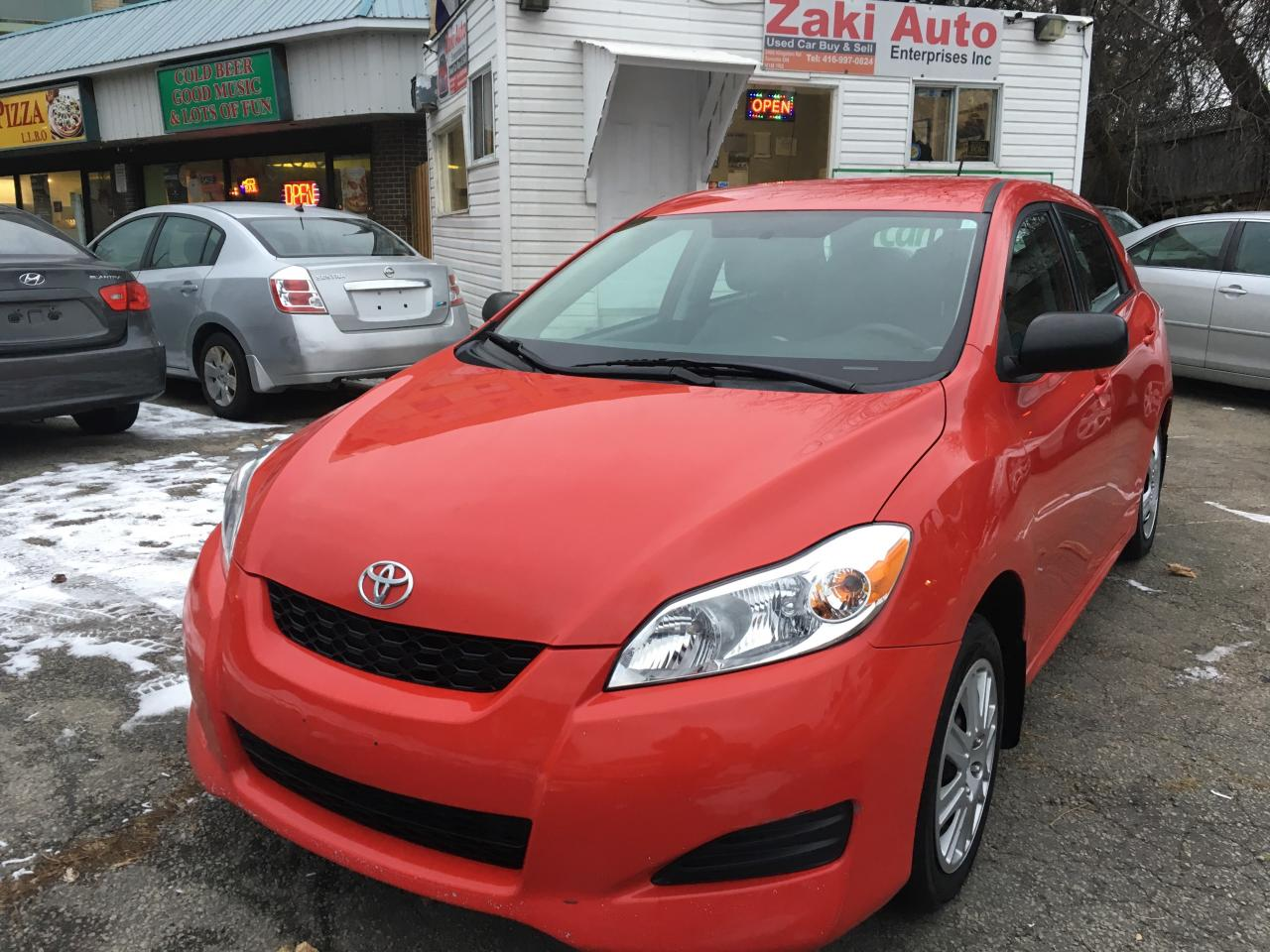 Photo of Red 2011 Toyota Matrix