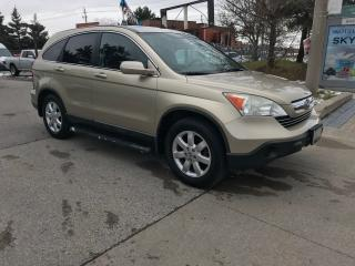 Used 2008 Honda CR-V EXL,LEATHER,S/ROOF,SAFETY+3YEARS WARRANTY INCLUDED for sale in Toronto, ON