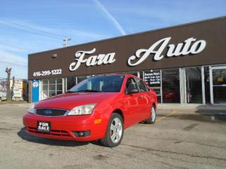 Used 2007 Ford Focus SUNROOF & SPOILER & ALLOYS for sale in Scarborough, ON