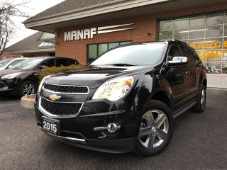 Used 2015 Chevrolet Equinox AWD LTZ Sunroof Navi Remote Starter Certi* for sale in Concord, ON