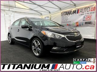 Used 2015 Kia Forte EX-Camera-Sunroof-Heated Seats-Fog Lights-XM Radio for sale in London, ON
