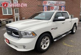 Used 2016 RAM 1500 Limited/ECODIESEL/CREW CAB/4X4/ONE OWNER/NO ACCIDE for sale in Cambridge, ON