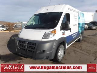 Used 2017 RAM ProMaster 3500 High Roof Cargo VAN EXT 159 WB 3.6L for sale in Calgary, AB