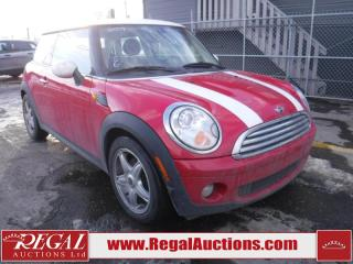 Used 2009 MINI Cooper 2D Hatchback for sale in Calgary, AB