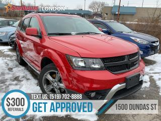 Used 2018 Dodge Journey Crossroad | 1OWNER | LEATHER | 7PASS | AWD for sale in London, ON