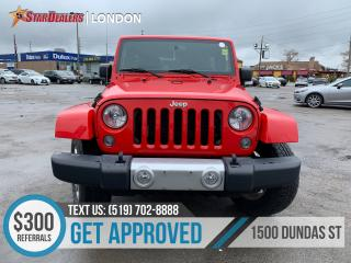 Used 2015 Jeep Wrangler Unlimited for sale in London, ON