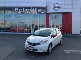 Used 2016 Nissan Versa 1.6 SV CVT for sale in Belleville, ON