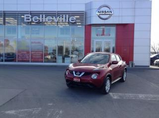 Used 2015 Nissan Juke SV AWD 1 OWNER LOCAL TRADE for sale in Belleville, ON