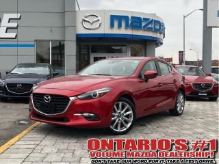 Used 2018 Mazda MAZDA3 GT-NAV,LEATHER,SUNROOF/1.99%,C.P.O!!! for sale in Toronto, ON