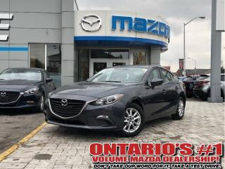 Used 2016 Mazda MAZDA3 GS-BACKUP CAM, HEATED SEATS/1.99%, C.P.O!!! for sale in Toronto, ON