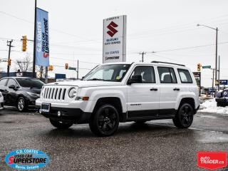 Used 2015 Jeep Patriot Altitude 4x4 ~Black Alloy Wheels ~Fog Lamps for sale in Barrie, ON