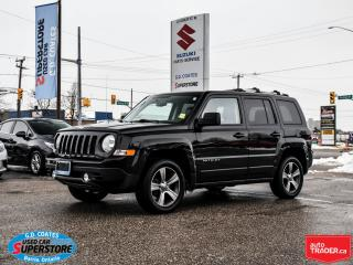 Used 2016 Jeep Patriot High Altitude 4x4 ~Heated Leather ~Power Moonroof for sale in Barrie, ON