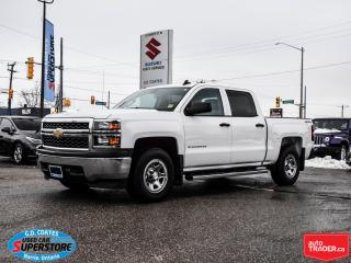 Used 2015 Chevrolet Silverado 1500 LS Crew Cab 4x4 ~5.3L V8 ~Trailer Tow Package for sale in Barrie, ON