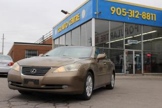 Used 2007 Lexus ES 350 Sedan | KEYLESS ENTRY | DUAL CLIMATE CONTROL | SUNROOF | HEATED SEATS | COOLED SEATS | DRIVER SEAT LUMBAR ADJUSTMENT | POWER DOOR LOCKS | POWER WINDOWS for sale in Hamilton, ON