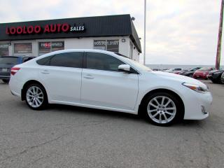 Used 2013 Toyota Avalon XLE NAVIGATION CAMERA CERTIFIED 2YR WARRANTY for sale in Milton, ON