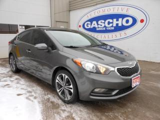 Used 2014 Kia Forte EX|NAVI|PUSH START|REAR CAM for sale in Kitchener, ON