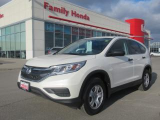 Used 2015 Honda CR-V LX, HONDA CERTIFIED! for sale in Brampton, ON
