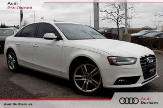 Used 2013 Audi A4 2.0T Premium + Navi | Keyless | AWD for sale in Whitby, ON