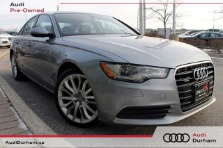 Used 2014 Audi A6 TDI Technik + Navi | Blind Spot | Diesel for sale in Whitby, ON