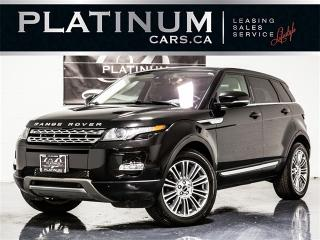 Used 2012 Land Rover Evoque Prestige, AWD, NAV, Backup CAM, Heated Leather for sale in Toronto, ON