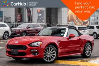 Used 2017 Fiat 124 Spider Lusso|Manual|SafetyComfortCollection|Nav|Backup_Cam|17