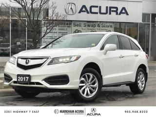 Used 2017 Acura RDX Tech at Navi, Bkup Cam, BSM, Pwr Trunk for sale in Markham, ON