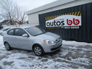 Used 2008 Hyundai Accent Hayon 3 portes, boîte manuelle, L for sale in Laval, QC