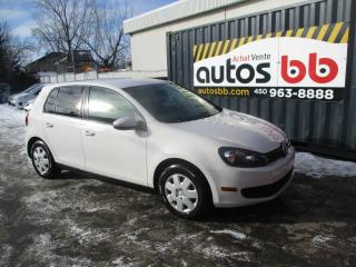Used 2010 Volkswagen Golf Hayon 5 portes, boîte automatique Trendl for sale in Laval, QC