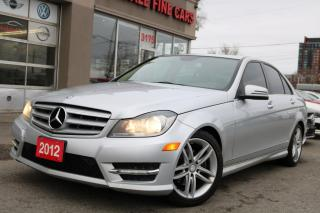 Used 2012 Mercedes-Benz C-Class Sunroof, Leather ONE OWNER for sale in Toronto, ON