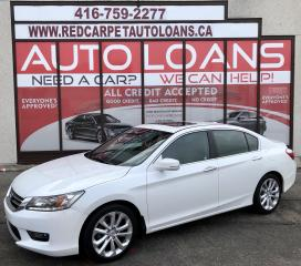 Used 2014 Honda Accord Touring TOURING-ALL CREDIT ACCEPTED for sale in Scarborough, ON