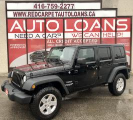 Used 2012 Jeep Wrangler Unlimited Sport SPORT-ALL CREDIT ACCEPTED for sale in Scarborough, ON