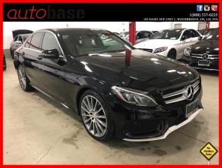 Used 2016 Mercedes-Benz C-Class C300 4MATIC PREMIUM SPORT BURMESTER LED for sale in Vaughan, ON