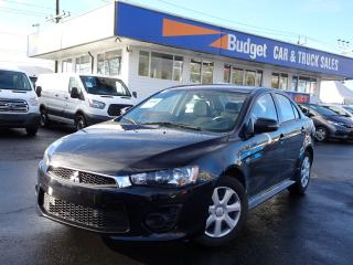 Used 2017 Mitsubishi Lancer Fuel Efficient, Reliable, Bluetooth, Camera for sale in Vancouver, BC
