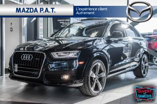 Used 2015 Audi Q3 2.0T Technik for sale in Montréal, QC
