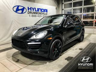 Used 2011 Porsche Cayenne TURBO + GARANTIE + NAVI + MAGS + WOW!! for sale in Drummondville, QC