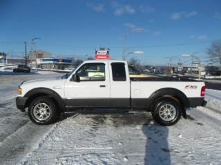 Used 2009 Ford Ranger Cabine super 4 RM 126 po FX4/Hors route for sale in Ancienne Lorette, QC