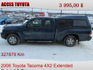 Used 2006 Toyota Tacoma for sale in Rouyn-Noranda, QC