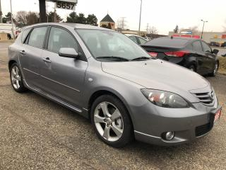 Used 2005 Mazda MAZDA3 Sport GS, Accident Free, Certified, Warranty for sale in Woodbridge, ON