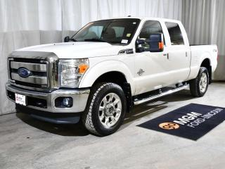 Used 2013 Ford F-350 Super Duty SRW Lariat 4x4 Crew Cab Pickup 156.2 in. WB for sale in Red Deer, AB