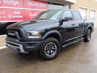 Used 2016 RAM 1500 Rebel 4x4 Crew Cab / Sunroof / Back Up Camera for sale in Edmonton, AB