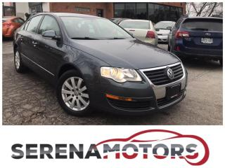 Used 2010 Volkswagen Passat 2.0T AUTO | LEATHER | HEATED SEATS | NO ACCIDENTS for sale in Mississauga, ON